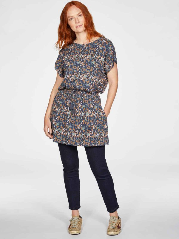 WST5374-MID-BLUE–Madelyn-Bamboo-Organic-Cotton-Jersey-Tunic-Dress-in-Mid-Blue-4